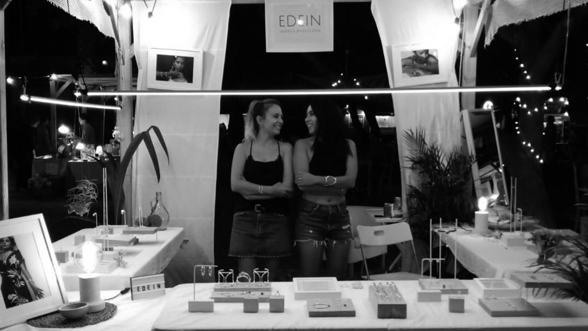 El equipo Edein, Anna Zamora y Elena Villares